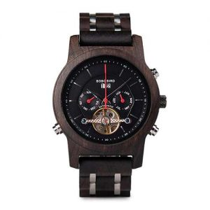 Bobo Bird Montreal Mens Wooden Watch UK 1