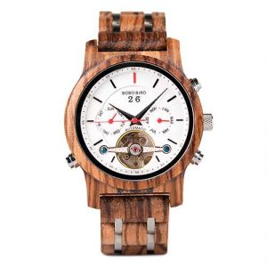 Bobo Bird Montreal Mens Wooden Watch UK 2