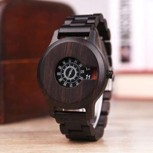 Bobo Bird Osaka Mens Wooden Watch UK 1