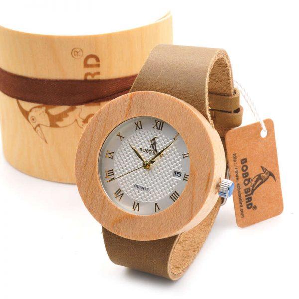 bobo bird womens wooden watch uk 8