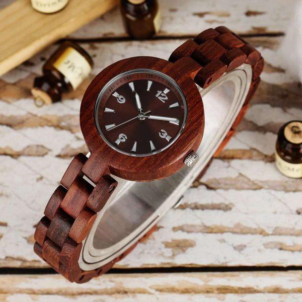 timbr verona womens wooden watch uk 4