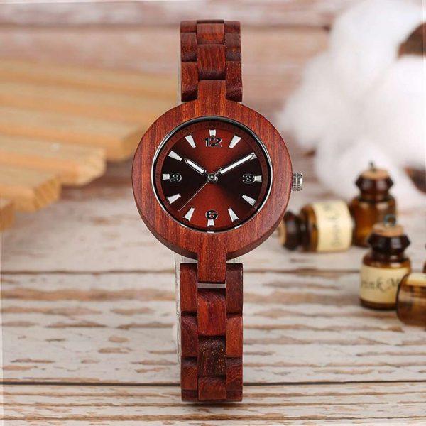timbr verona womens wooden watch uk 6