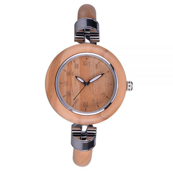 bewell genoa womens wooden watch uk 11