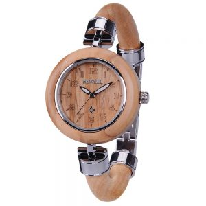Bewell Genoa Womens Wooden Watch UK 5