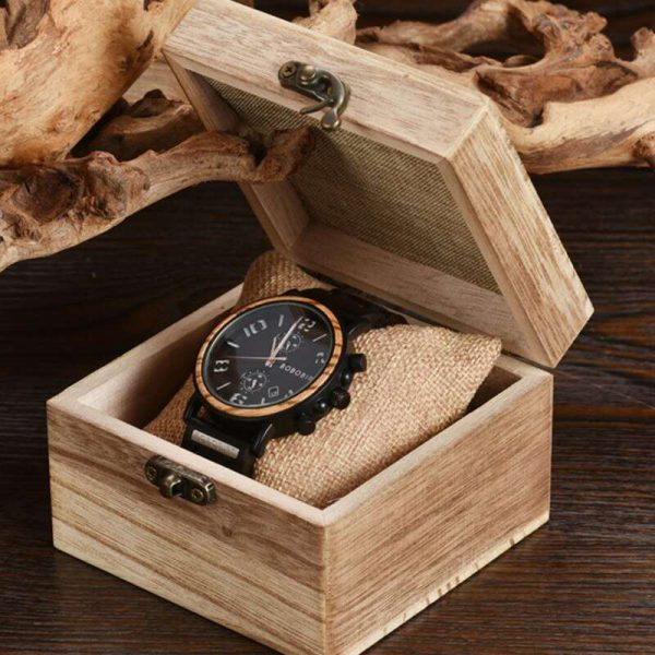 Bobo Bird Vegas Mens Wooden Watch UK 4
