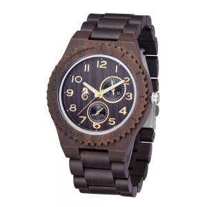Timbr Bologna Mens Wooden Watch UK