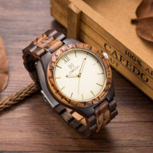 Uwood Oxford Mens Wooden Watches UK
