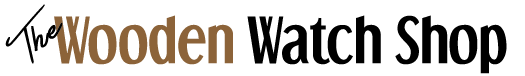 wooden watch shop logo