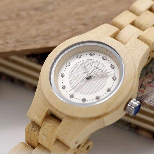 Bobo Bird Odessa Ladies Womens Wooden Watch UK 2