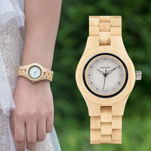 Bobo Bird Odessa Ladies Womens Wooden Watch UK 6