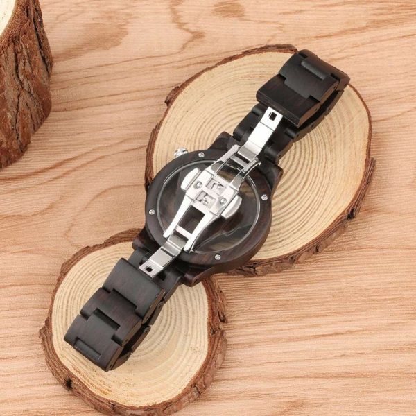 Timbr Vienna Wooden Watch UK 9