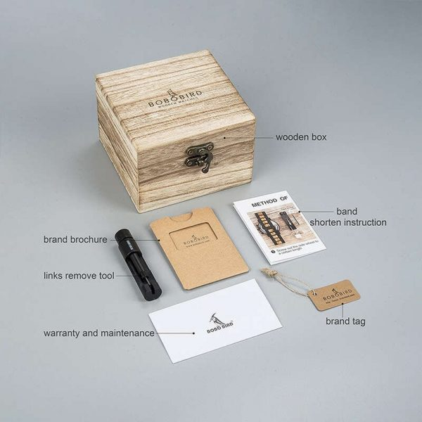 Wooden Watch Shop - Wooden Gift Box