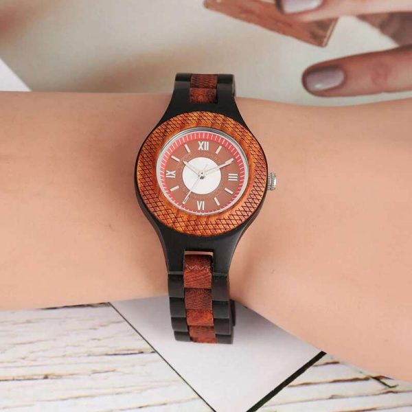 timbr budapest womens wooden watch uk 7