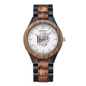 Shifenmei Alaska Mens Wooden Watch UK 5