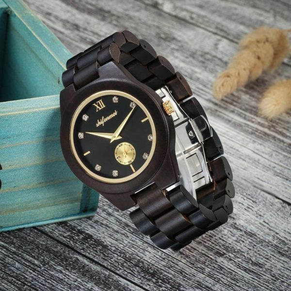 Shifenmei Essen Wooden Watch UK 5