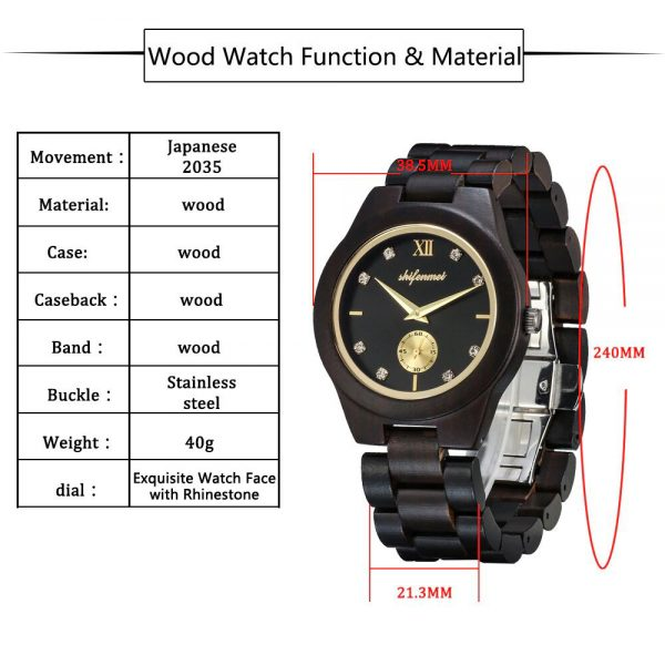 Shifenmei Essen Wooden Watches UK