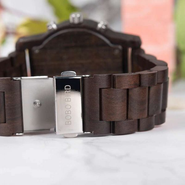 bobo bird dubai wood watch uk view from behind