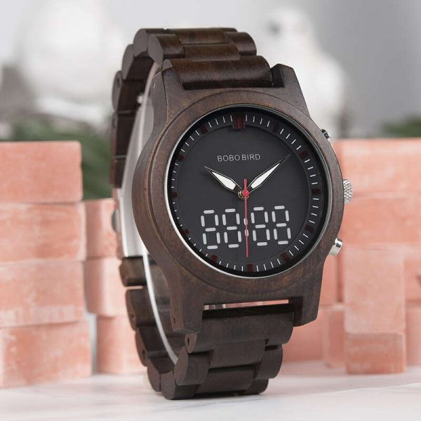 bobo bird dubai wooden watch uk view to the right