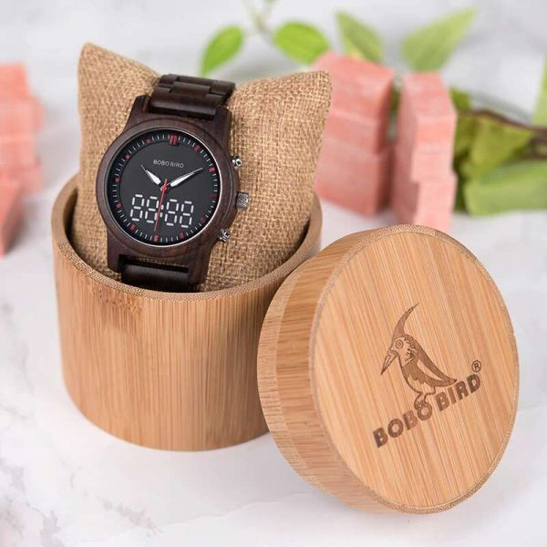 bobo bird dubai wooden watch uk with wood box