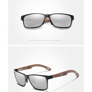 KingSeven Ohio Mens Wooden Sunglasses UK 3