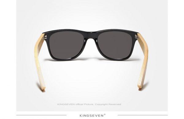 KingSeven Seine Wooden Sunglasses UK 2