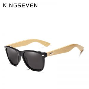 KingSeven Seine Wooden Sunglasses UK 3