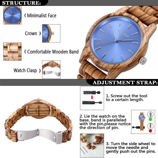 Shifenmei Paris Wooden Watches UK 11