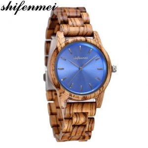 Shifenmei Paris Wood Watch UK 4