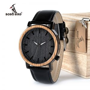 Bobo Bird Aukland Mens Wooden Watch UK 1