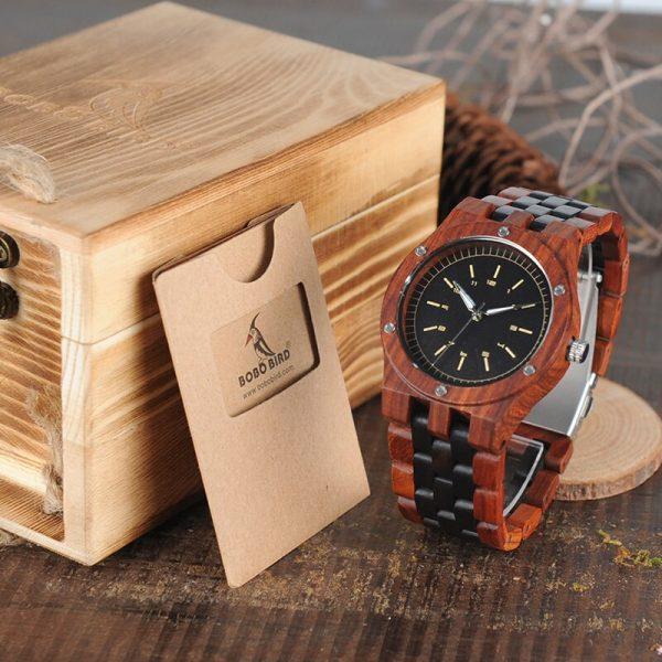 Bobo Bird Seville Mens Wooden Watch UK 2