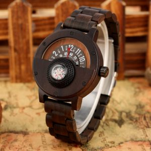 Timbr Sahara Mens Wooden Watch UK 3