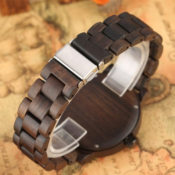Timbr Sahara Mens Wooden Watch UK 4