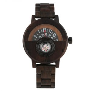 Timbr Sahara Mens Wooden Watch UK 5