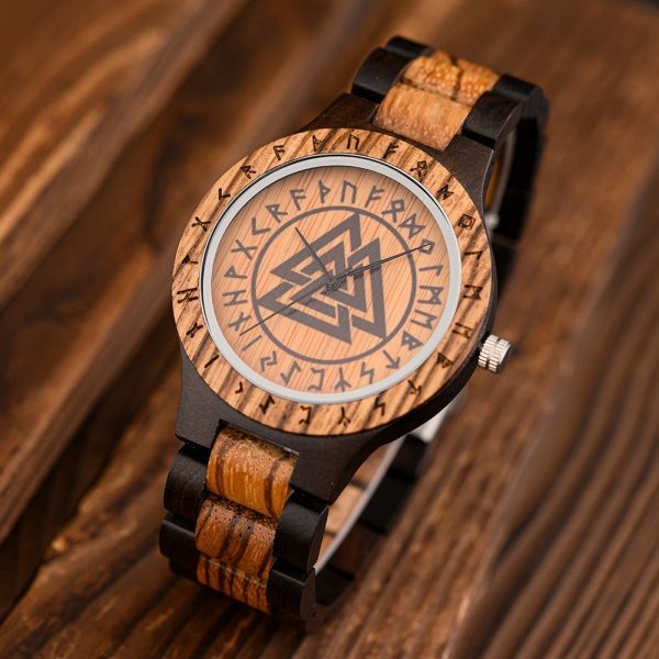 The Norsk mens wooden watch uk 10