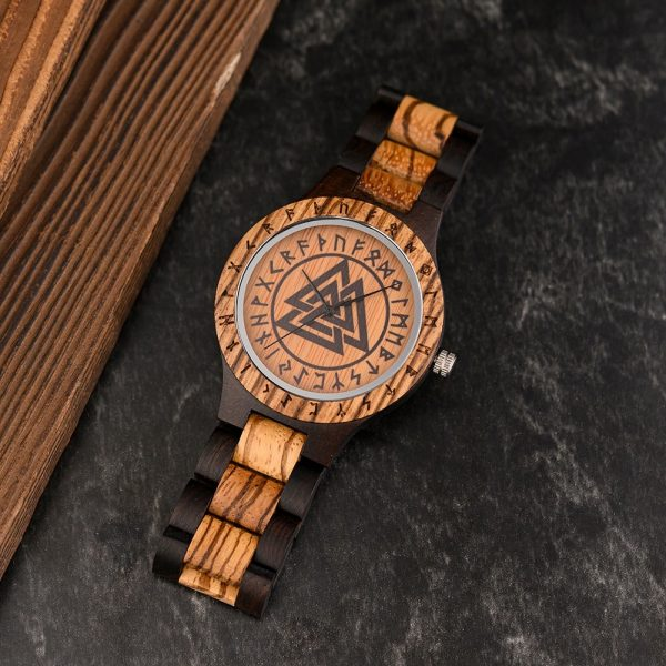 The Norsk mens wooden watch uk 11