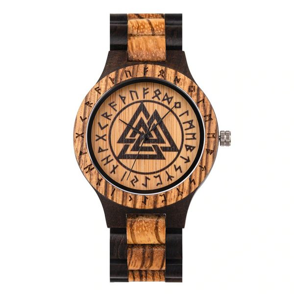 The Norsk mens wooden watch uk 14