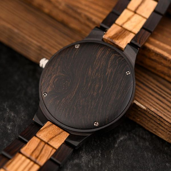 The Norsk mens wooden watch uk 16