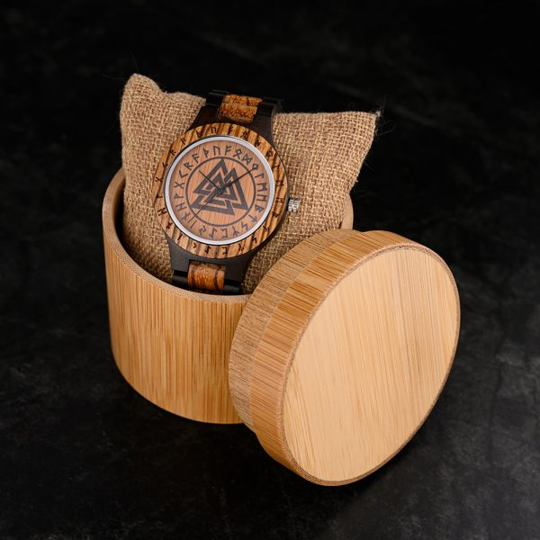 The Norsk mens wooden watch uk 18
