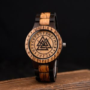 The Norsk mens wooden watch uk 9