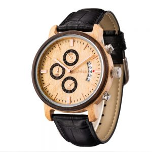 The Jakarta Mens Wooden Watch UK 1