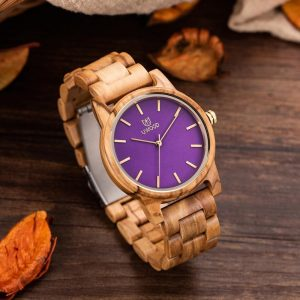 The Manila Womens Wooden Watch UK 2