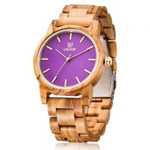 The Manila Womens Wooden Watch UK 3